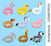Animals Pool Float Rings. Kids...