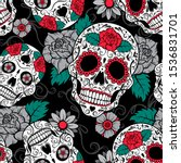 Seamless Gothic Vector Pattern...