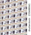 apartment building  | Shutterstock . vector #153688061
