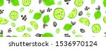 seamless bright light pattern... | Shutterstock .eps vector #1536970124