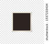square vector vintage photo... | Shutterstock .eps vector #1537233434