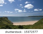 the gower peninsula is a...