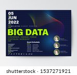 big data conference business... | Shutterstock .eps vector #1537271921