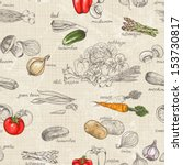 Seamless Kitchen Background Of...