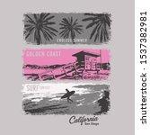 photo print california... | Shutterstock .eps vector #1537382981