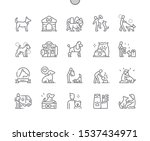 dog well crafted pixel perfect... | Shutterstock .eps vector #1537434971