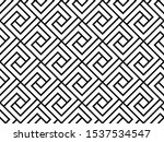the geometric pattern with... | Shutterstock .eps vector #1537534547