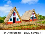 Traditional Colorful Houses In...