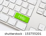 Help Key On A White Keyboard