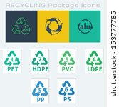 9 recycle packaging symbols...