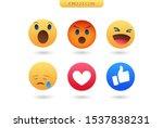 emoji feeling faces vector....   Shutterstock .eps vector #1537838231