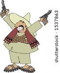 mexican bandito | Shutterstock . vector #1537863