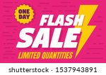 one day flash sale concept... | Shutterstock .eps vector #1537943891