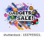 Modern Banner Of Gadgets Sale...