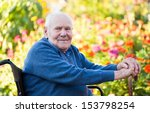 old man being lonely in the... | Shutterstock . vector #153798254