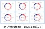 pie chart infographic templates ... | Shutterstock .eps vector #1538150177