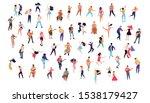 dancing crowd people flat... | Shutterstock .eps vector #1538179427