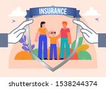 family protection  life...   Shutterstock .eps vector #1538244374