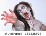Bleeding Psychotic Woman In A...