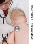 toddler to study at the doctor | Shutterstock . vector #153836939