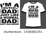 papa t shirt design   vector... | Shutterstock .eps vector #1538382251