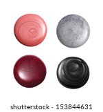 group of nail polish isolated... | Shutterstock . vector #153844631