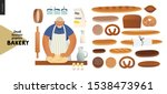 bakery  small business... | Shutterstock .eps vector #1538473961