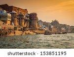 Varanasi Morning At Ganga River