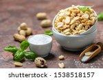 Salty Freshly Roasted Peanuts...