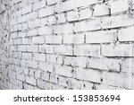 Old White Brick Wall Background ...