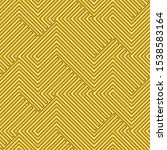 full seamless zigzag geometric... | Shutterstock .eps vector #1538583164