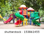 Colorful Playground Fun Red Da...
