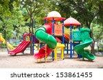 Colorful Playground Fun Red Da...