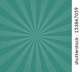 turquoise sunburst blank... | Shutterstock .eps vector #153867059