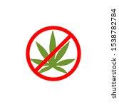 cannabis leaf logo cannabis... | Shutterstock .eps vector #1538782784