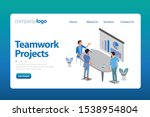 effective website template... | Shutterstock .eps vector #1538954804