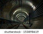 underground metro line | Shutterstock . vector #153898619