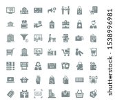 sale icons. editable 49 sale... | Shutterstock .eps vector #1538996981