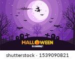 halloween image vector...   Shutterstock .eps vector #1539090821