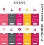 big sale infographic 10 option...