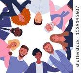 business team. vector... | Shutterstock .eps vector #1539145607