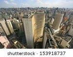 Sao Paulo Skyline  Brazil.