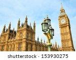 Big Ben Clocktower In London...