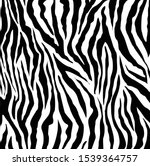 zebra print  animal skin  tiger ... | Shutterstock .eps vector #1539364757
