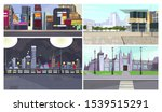 tourist places for walk vector... | Shutterstock .eps vector #1539515291