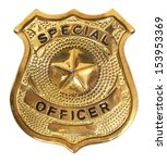 special officer badge | Shutterstock . vector #153953369