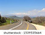 Mountain Mount Hermon With...