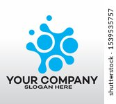 abstract logo for business... | Shutterstock .eps vector #1539535757