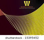 abstract background to design... | Shutterstock .eps vector #15395452