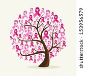 global collaboration breast... | Shutterstock .eps vector #153956579
